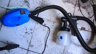 Riview Spray Gun 650 Watt Alat Semprot Cat Murah Meriah