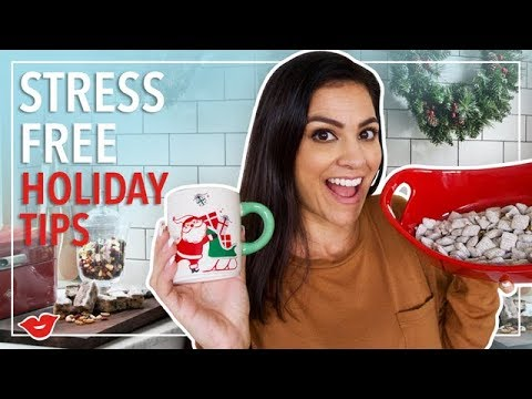 Tips for a Stress Free Holiday Season!   Kimberly from Millennial Moms