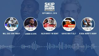 UNDISPUTED Audio Podcast (9.03.19) with Skip Bayless, Shannon Sharpe & Jenny Taft | UNDISPUTED