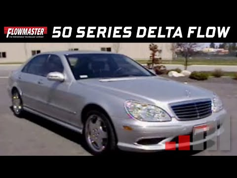 2004 Mercedes S500 With Flowmaster 50 Series Delta Flow Mufflers