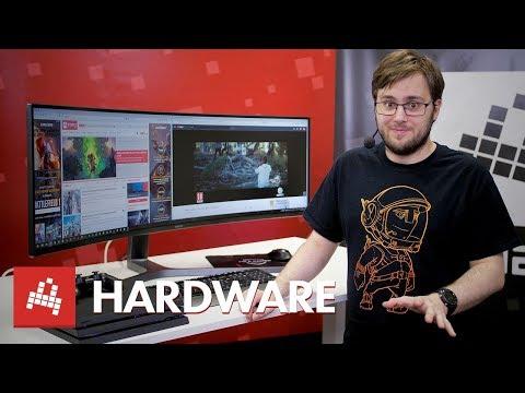 Test nejširšího herního monitoru Samsung C49HG90