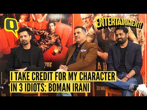 I Take Credit For My Character in Three Idiots: Boman Irani  The Quint