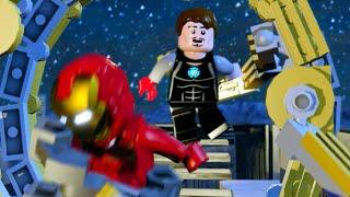 """Lego Marvels Avengers Tony Assembles The Avengers at Stark Tower """"The Avengers"""""""