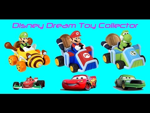 Nintendo Marios Brothers Coin Racers And Surprise Toys With Lighting McQueen