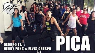 PICA   Deorro Ft. Elvis Crespo & Henry Fong | Mauri Alejandro Zumba | Dance Fitness