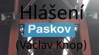 Hlášení (Václav Knop) Paskov