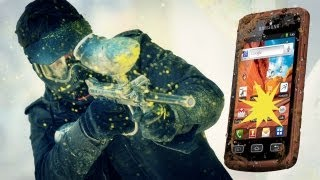 Galaxy XCover 2 - Unboxing auf die harte Tour - EXTREME