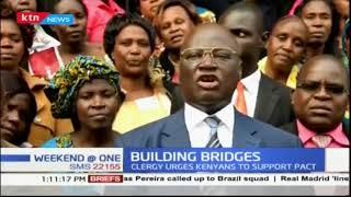 Bishops Arthur Kitonga blesses Raila-Uhuru Handshake