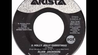 "Alan Jackson - ""A Holly Jolly Christmas"" (Arista) 1992"