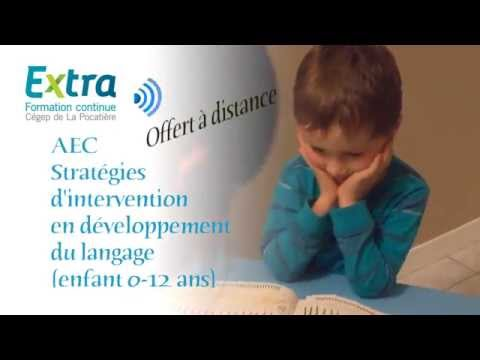 AEC | Stratégies d'intervention en développement du langage (0-12...