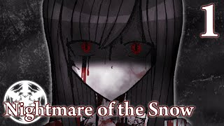 "Nightmare of the Snow - ""Chilling"" Horror Game (RPGMaker), Manly Let's Play Pt.1"
