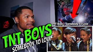TNT Boys - Somebody To Love | Queen | Little Big Shots