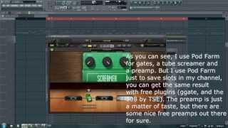 Djent / Metal tone using free plugins (TUTORIAL)