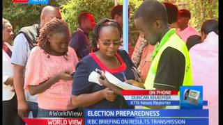 IEBC briefing on national transmission of results
