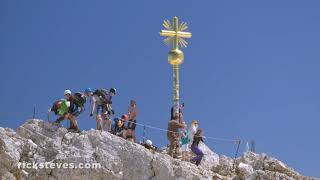 Thumbnail of the video 'The Zugspitze, Germany's Highest Mountain'