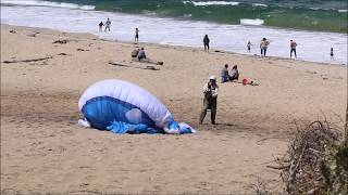 Paraglider - Three Step Take Off
