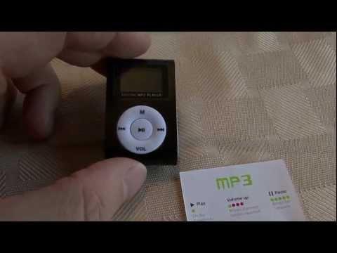 Digital Mini MP3 Player with FM Radio