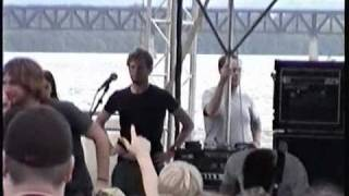 EVERY TIME I DIE romeo a go-go LIVE @ KRAZYFEST 6 - 2003 - Louisville, KY