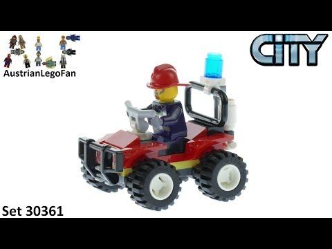 Vidéo LEGO City 30361 : Fire ATV (Polybag)