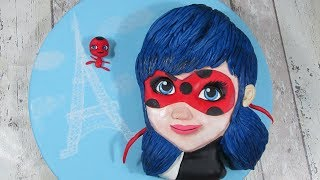 Miraculous Ladybug Cake How To Step by Step Tutorial