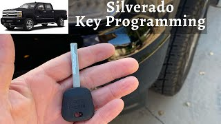 How To Program A Chevy Silverado Key 2007 - 2016 DIY Chevrolet Transponder Ignition
