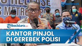 Polda Metro Jaya Berhasil Gerebek 5 Perusahaan Pinjaman Online Ilegal