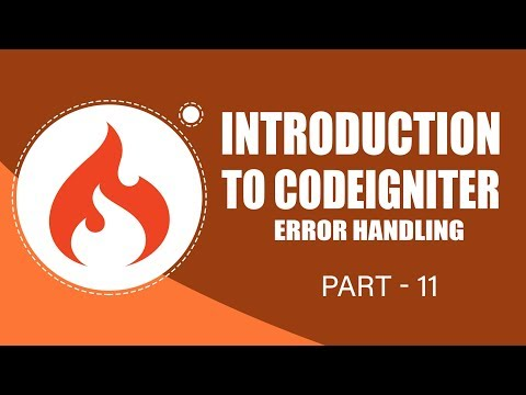 "CodeIgniter Framework | Handling Errors | Part 11 | Eduonix""},""attrs"":{""id"":""movie_player""},""params"":{""allowfullscreen"":""true"