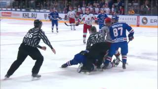 KHL Fight: Zubarev VS Andronov