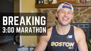 Breaking Three Hours | BOSTON MARATHON QUALIFIER | Little Rock Marathon