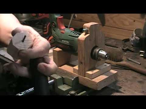 DIY bricolage : Comment fabriquer des boutons de tiroir avec une perceuse ? ……. Kastepat