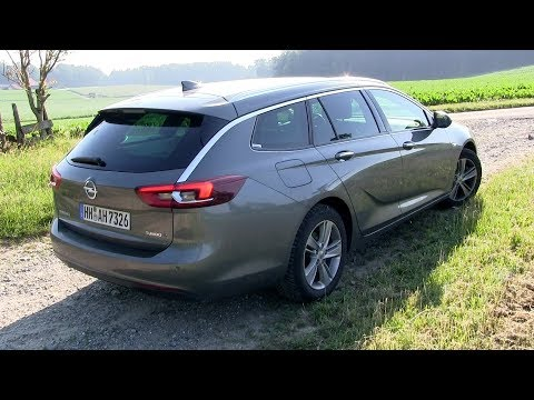 Opel Insignia Sports Tourer Универсал класса D - тест-драйв 3