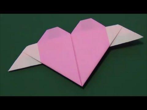 クリスマス 折り紙 : 折り紙 ハート 立体 : matome.naver.jp