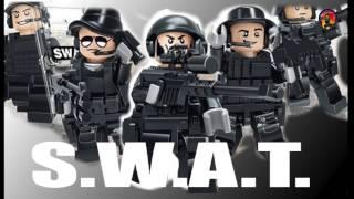 SWAT Police lego совместимый набор из Китая