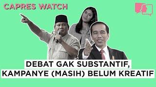 Debat Gak Substantif, Kampanye (Masih) Belum Kreatif