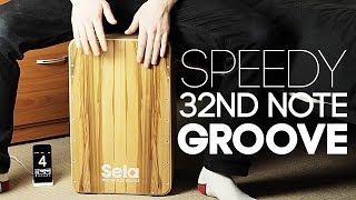 Lesson: Speedy 32nd Note Beat