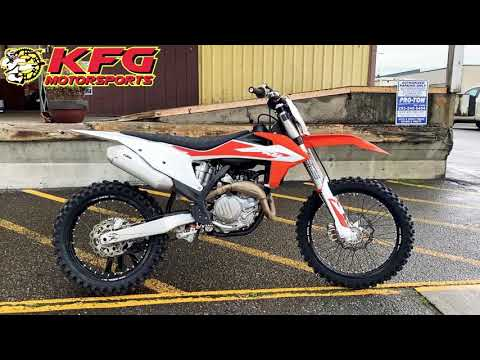 2020 KTM 450 SX-F in Auburn, Washington - Video 1