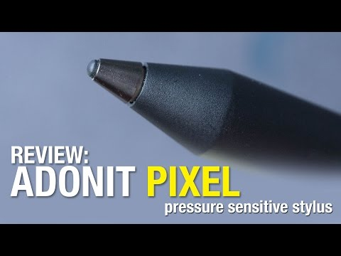 Artist Review: Adonit Pixel Pressure Sensitive Stylus for iPad and iPhone