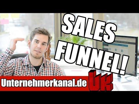Sales Funnel erstellen? Online-Marketing Tutorial auf deutsch inkl. Software (Clickfunnels)