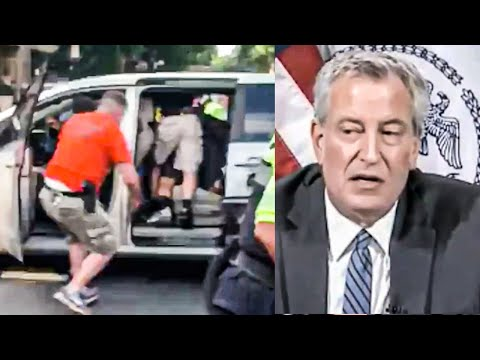 New York Mayor DEFENDS Police Kidnapping Protestors