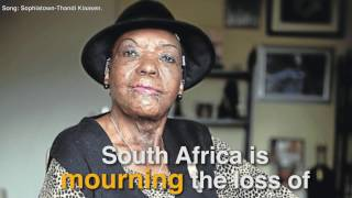 Heartwarming tributes continue to pour in for jazz legend Thandi Klaasen