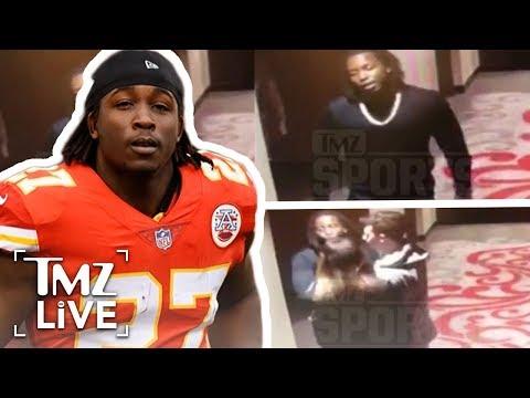 [TMZ]  NFL Superstar Kareem Hunt Attacks Woman In Hotel