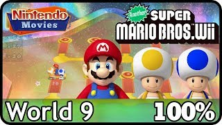 Another New Super Mario Bros. Wii   World 9 (100%, Multiplayer)