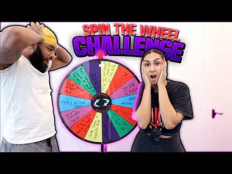 SPIN THE WHEEL CHALLENGE!!!