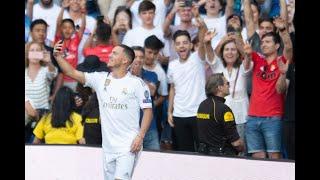 Eden Hazard unveiled at Real Madrid – watch live