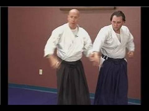 Intermediate Aikido: Mune Tsuki Waza : Mune Tsuki Waza: Sankyo Kubishime