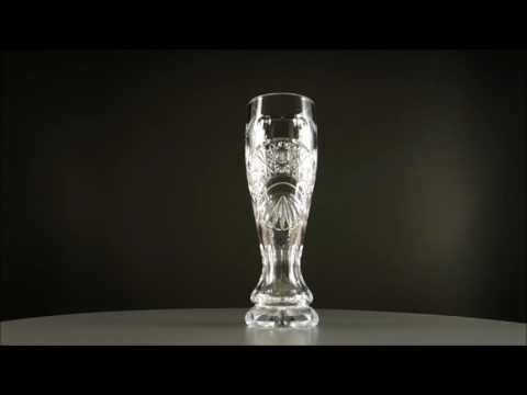 Handgeschliffenes Weizenglas aus Bleikristall hergestellt von JOSKA KRISTALL in Bodenmais