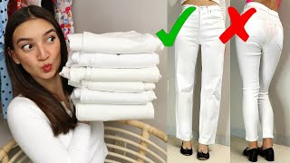 Which Brand Makes the Best WHITE JEANS?