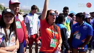 اليوم الخامس من مهرجان الألعاب البدوية العالمية في دورتة الثالثة في جمهورية قيرغزستان