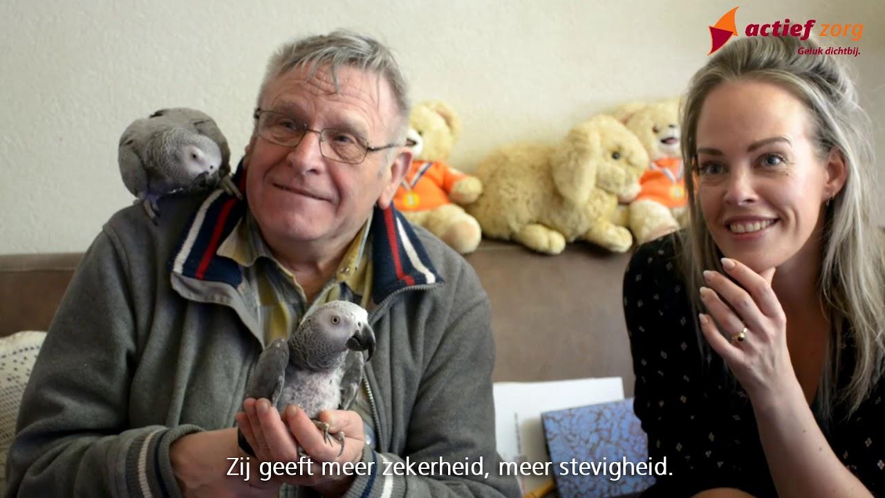 Op bezoek bij meneer van Lieshout met Joyce Saris