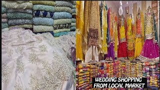 Pakistani Wedding Dresses From Local Bazaar Feat. Auriga Market | Ayesha N